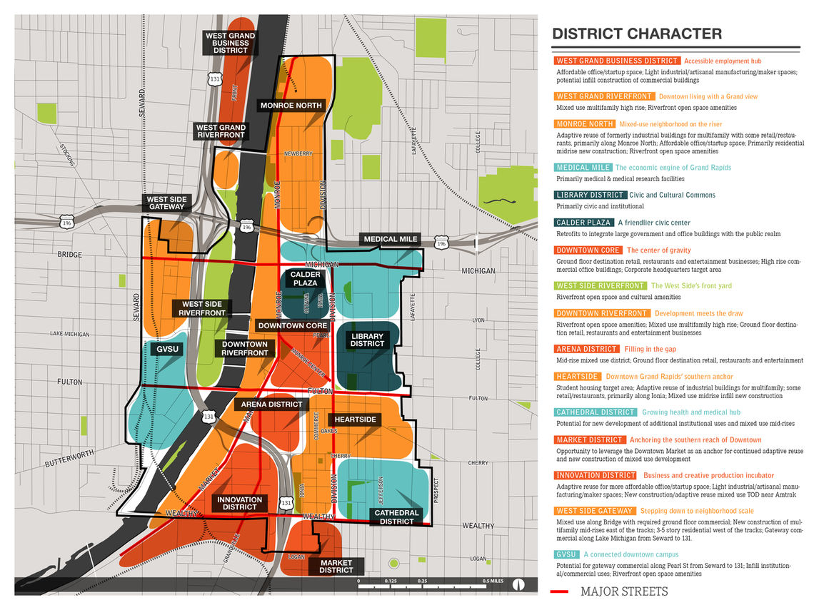 GR Forward's recommendations were tailored to Downtown's many personalities