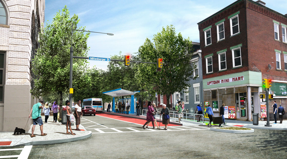 The potential for Forbes - redesigned to include transportation choices for all residents