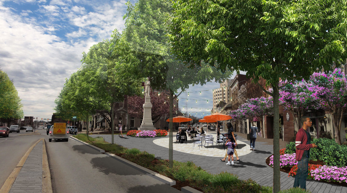 Proposed Cotton Street improvements