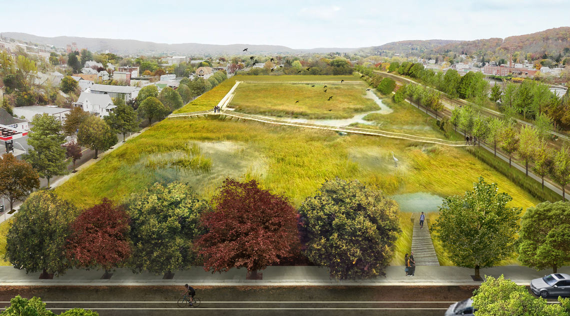 Proposed new green infrastructure